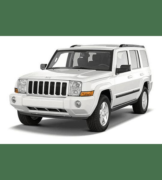 Manual de Taller Jeep Commander XK ( 2006 - 2010 ) Inglés