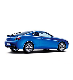 Manual De Taller Hyundai Coupe Tiburon (2002 - 2009) Inglés