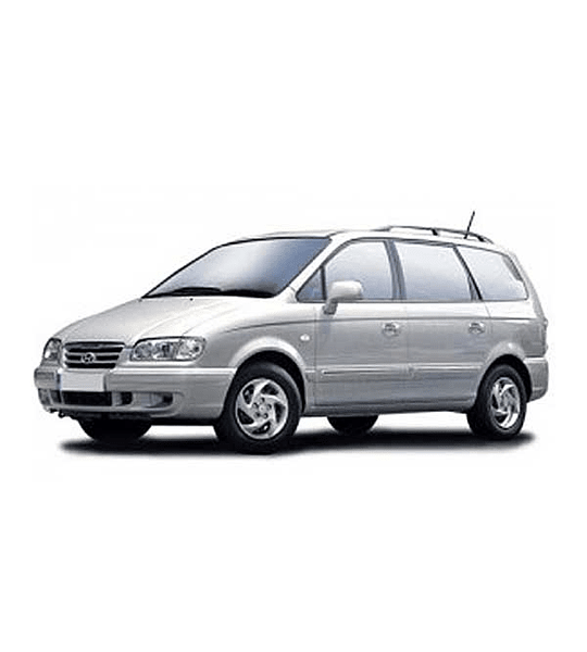Manual De Taller Hyundai Trajet (1999-2008) Inglés