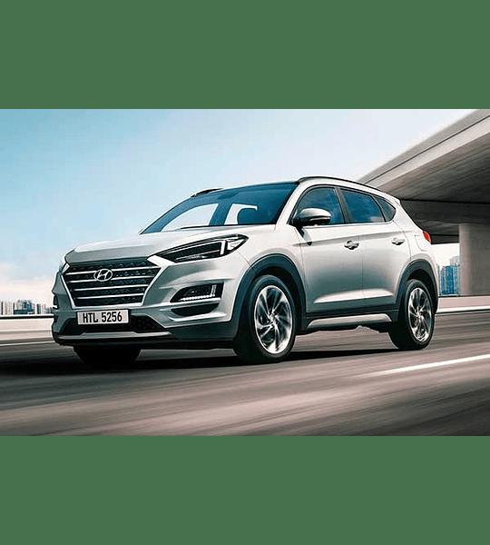 Manual de Taller Hyundai Tucson TL ( 2015 - 2019 ) Inglés