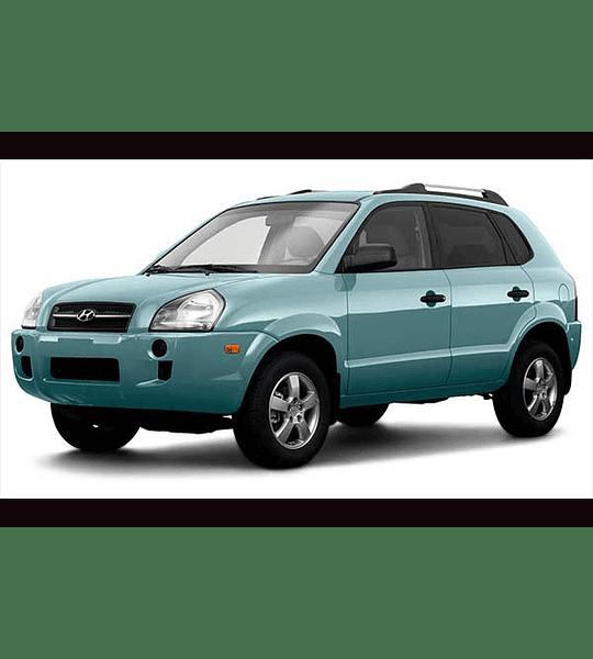 Manual de Taller Hyundai Tucson GLS ( 2008 - 2010 ) Inglés