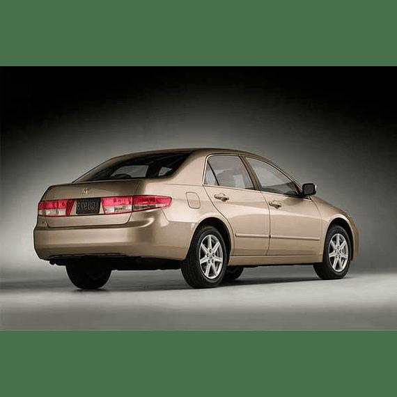 Manual De Taller Honda Accord (2002-2007) Español