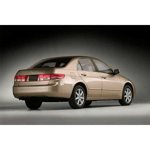 Manual De Taller Honda Accord (2002-2007) Español