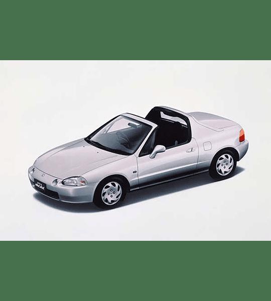 Manual De Taller Honda Crx Del Sol (1992-1998) Español