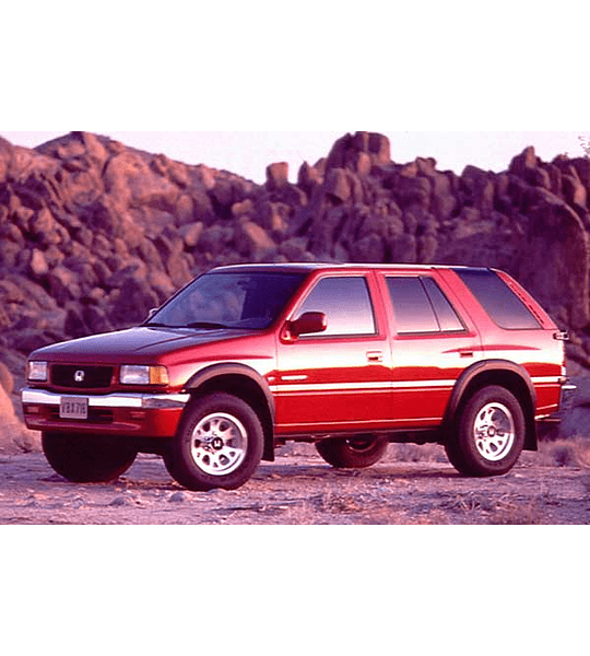 Manual De Taller Honda Passport (1993-1997) Inglés