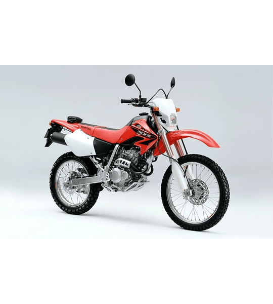 Manual De Taller Honda Xr 250 (1996-2004) En Inglés