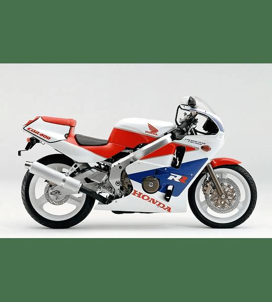 Manual De Taller Honda Cbr 400 (1988-1999) En Inglés