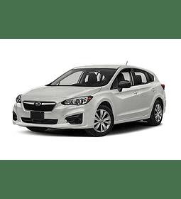 Manual De Taller Subaru Impreza (2016–2019) Inglés
