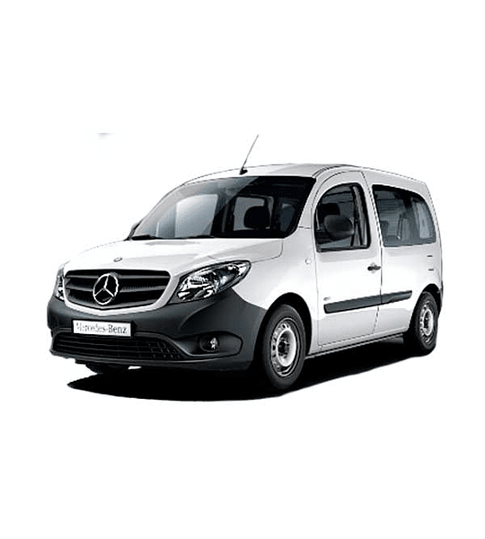 Manual De Taller Mercedes Benz Citan (2012–2019) Inglés