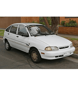 Manual De Taller Ford Aspire (1993-2000) En Español