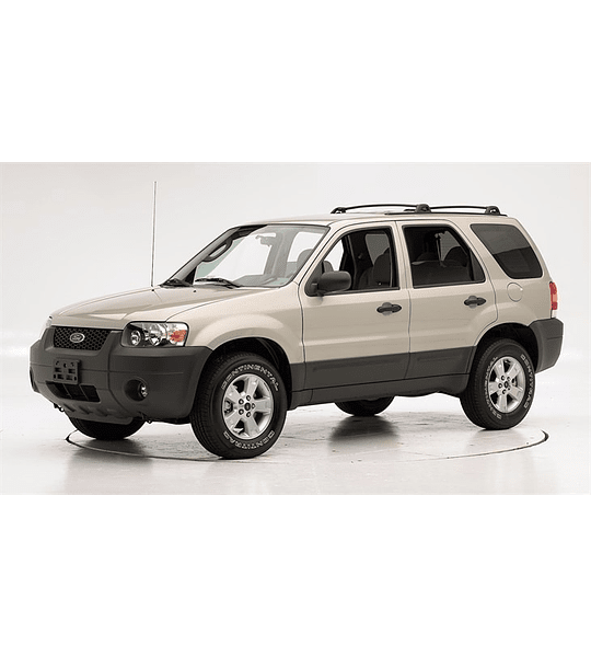 Manual De Taller Ford Escape (2001-2007) Español