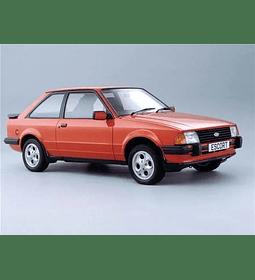 Manual De Taller Ford Escort (1980-1996) Español