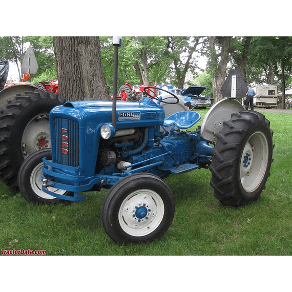 Manual de Taller - Ford 2000 Tractor ( 1965 - 1975 ) inglés