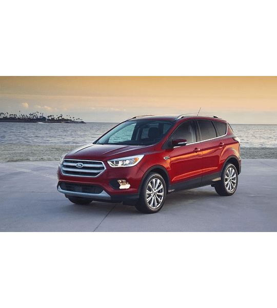Manual De Taller Ford Escape ( 2012 - 2017 ) En Español