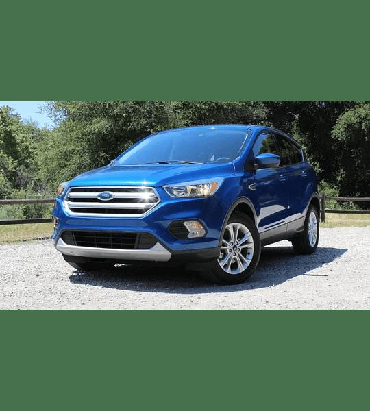Manual De Taller Ford Escape Kuga ( 2013 - 2017 ) inglés