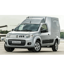 Manual De Taller Fiat Fiorino (2007-2018) Inglés