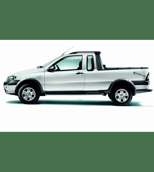 Manual De Taller Fiat Strada (1996 - 2009) Ingles