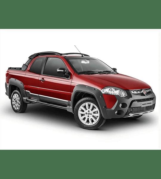 Manual De Despiece Fiat Strada (1996-2017) Español