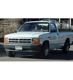 Manual De Taller Dodge Dakota (1987-1996) En Español