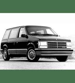 Manual De Despiece Dodge Caravan (1984 - 1990) En Español