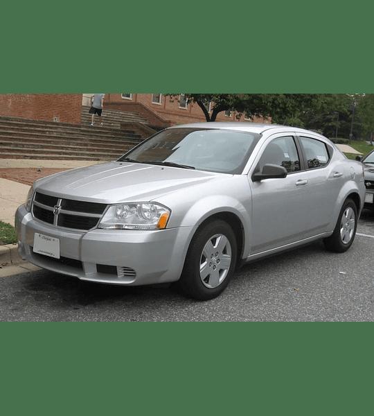 Manual De Taller Dodge Avenger (2008-2014) Inglés