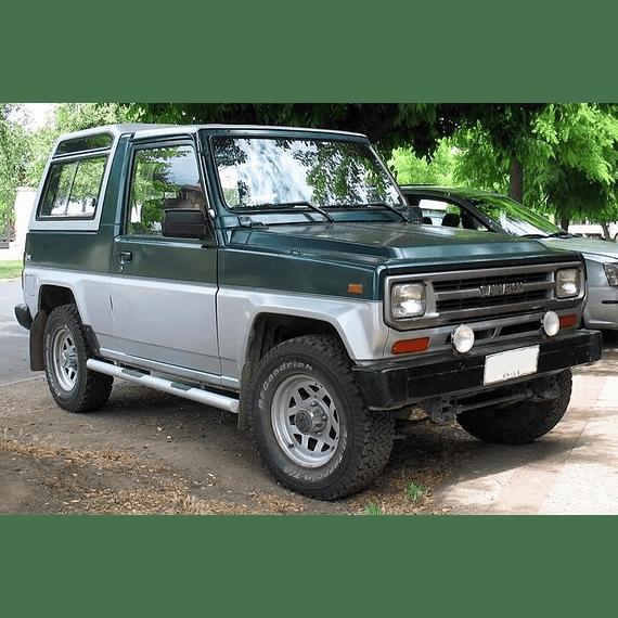 Manual De Taller Daihatsu Rocky (1984-1998) En Inglés