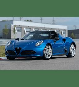 Manual De Taller Alfa Romeo 4c (2013-2019) Inglés