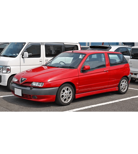 Manual De Taller Alfa Romeo 145 (1994-2000) Inglés