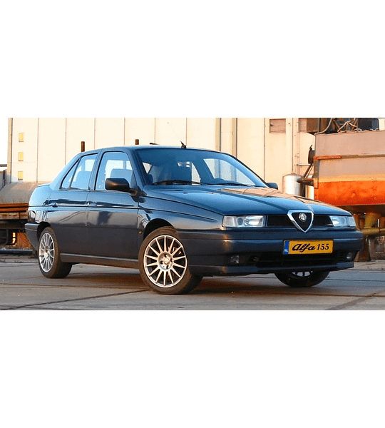Manual De Taller Alfa Romeo 155 (1992-1998) Ingles