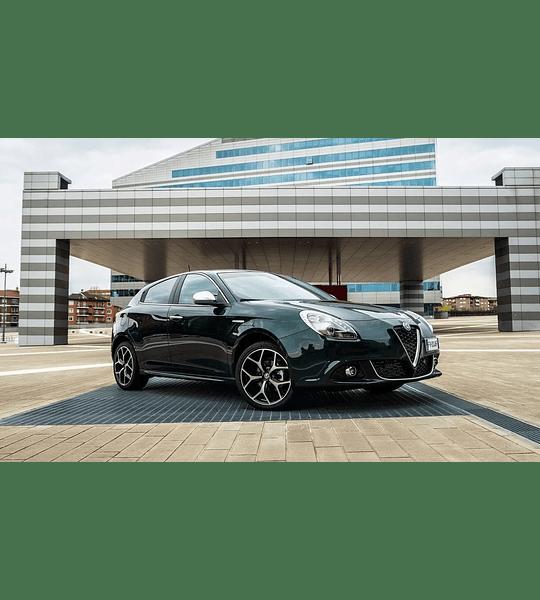 Manual De Taller Alfa Romeo Giulietta (2010-2019) Inglés