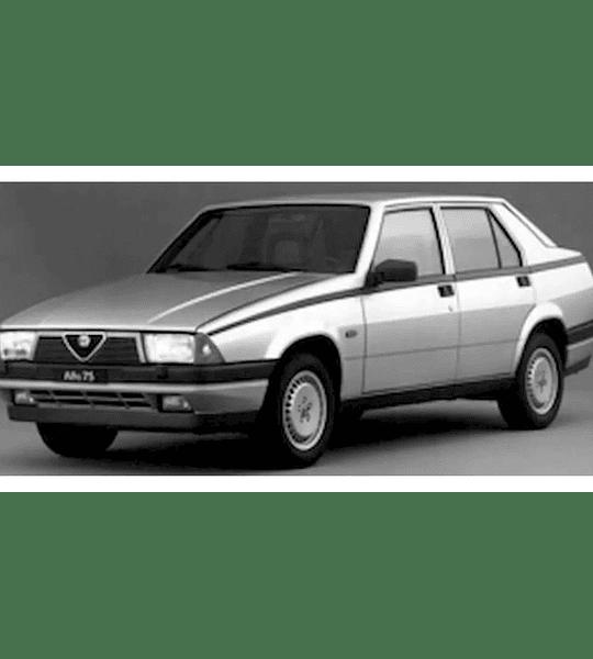Manual De Taller Y Reparación Alfa Romeo 75 2.0 Twin Spark