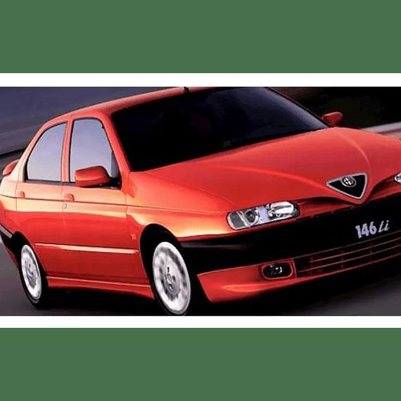 Manual De Taller Y Reparación Alfa Romeo 145-146  ( 1994 -2000 ) inglés