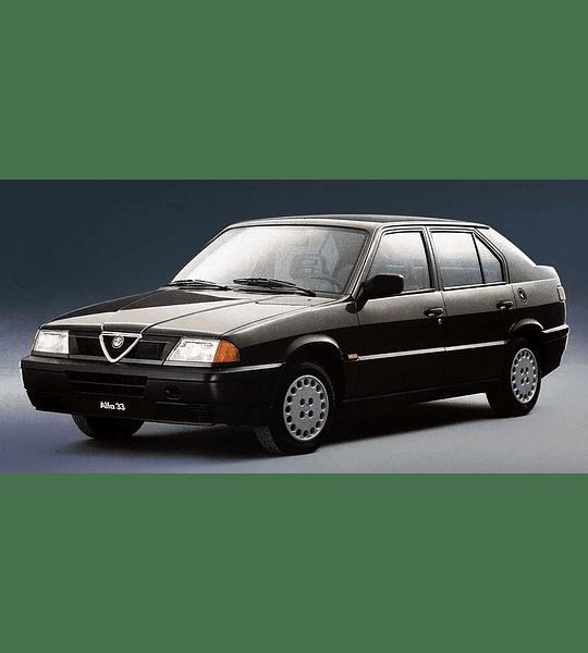 Manual De Mecánica Y Reparación Alfa Romeo 33 inglés