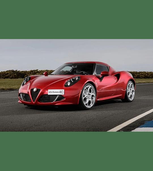 Manual De Mecánica Y Reparación Alfa Romeo 4c inglés