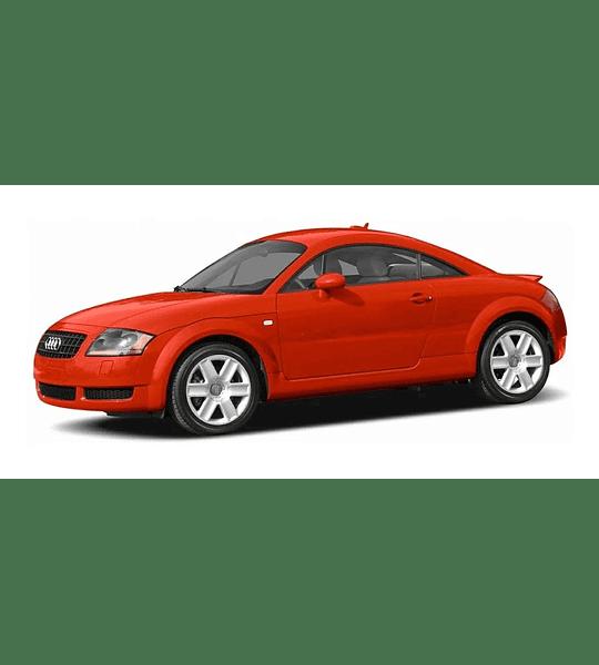 Manual De Taller Audi Tt ( 2004 2005 ) Inglés