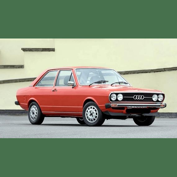 Manual De Despiece Audi 80 (1972-1978) Español