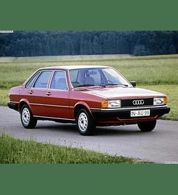 Manual De Despiece Audi 80 (1978-1986) Español