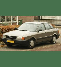 Manual De Despiece Audi 80 (1986-1991) Español
