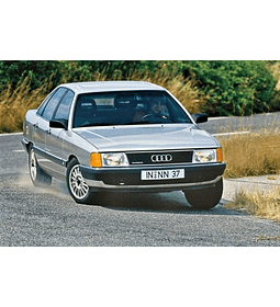 Manual De Taller Audi 100 (1982-1991) Inglés