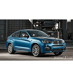 Manual De Taller Bmw X4 (2014-2018) Español