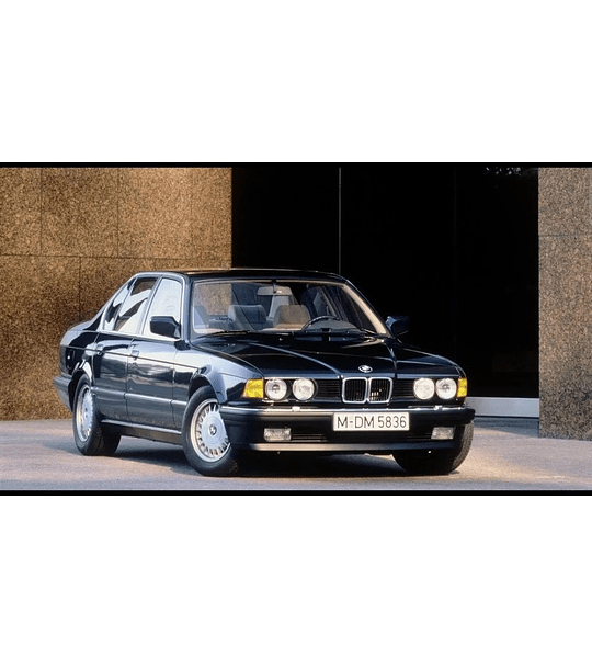 Manual De Taller Bmw E32 (1986-1994) Inglés