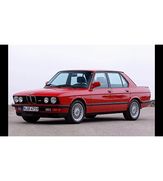 Manual De Taller Bmw E28 (1981-1987) En Español