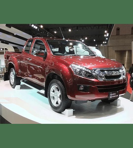 Manual De Taller Chevrolet D-max (2012-2018) Ingles