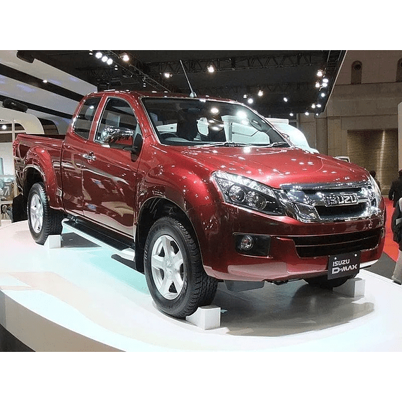 Manual De Taller Chevrolet D-max (2012-2018) Ingles