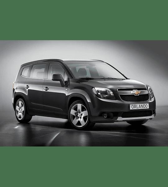 Manual De Taller Chevrolet Orlando (2011-2018) En Español