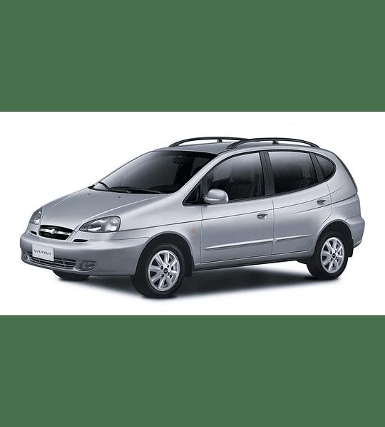 Manual De Taller Chevrolet Vivant (2000-2008) En Español