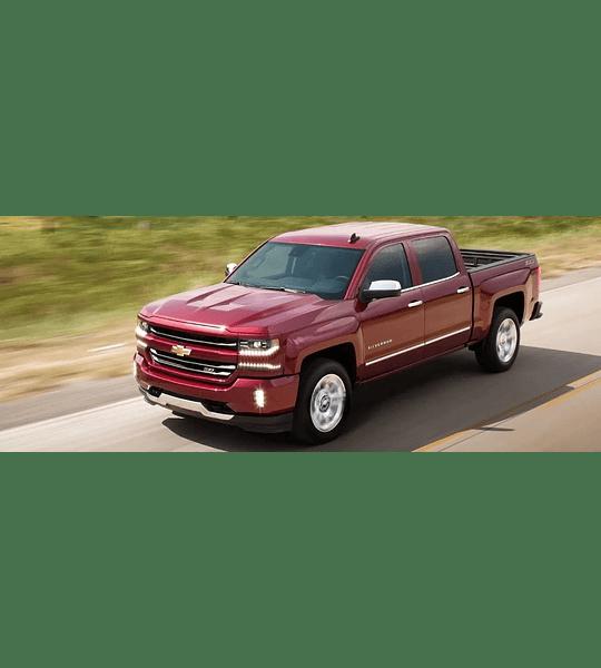 Manual De Taller Chevrolet Silverado ( 2016 - 2018 ) inglés