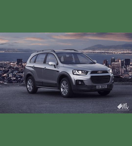 Manual De Taller Chevrolet Captiva (2011-2017) En Español
