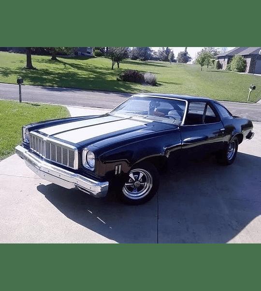 Manual De Taller Chevrolet Malibu (1973-1983) Español
