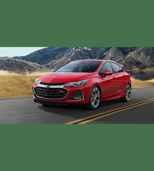 Manual De Taller Chevrolet Cruze (2016-2019) inglés
